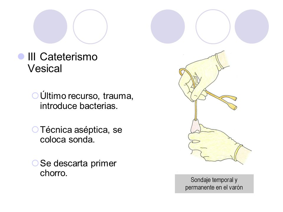 III Cateterismo Vesical