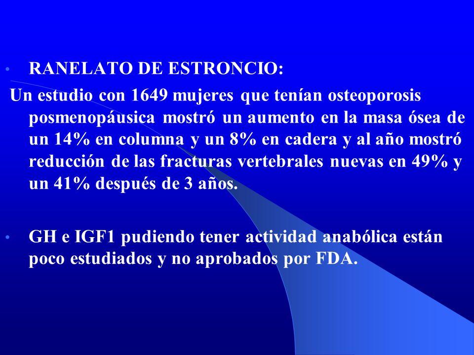 RANELATO DE ESTRONCIO: