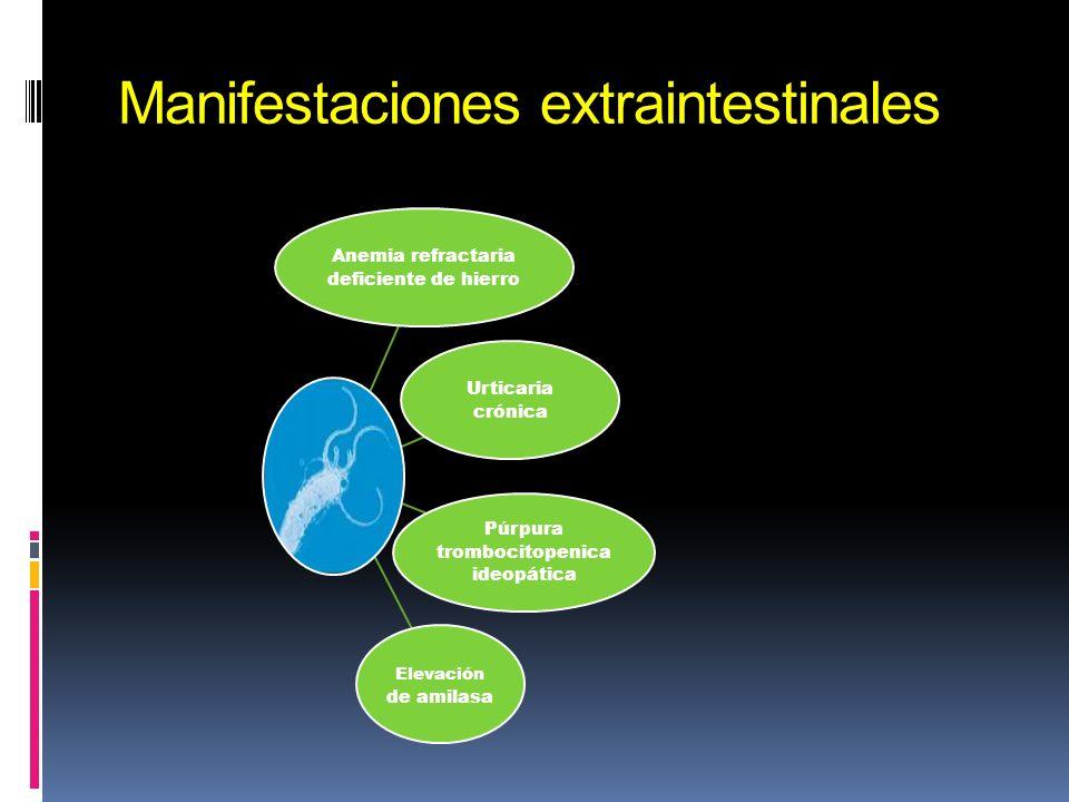 Manifestaciones extraintestinales