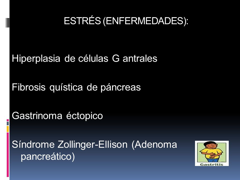 ESTRÉS (ENFERMEDADES):