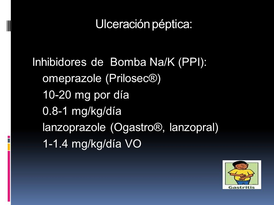 Ulceración péptica: