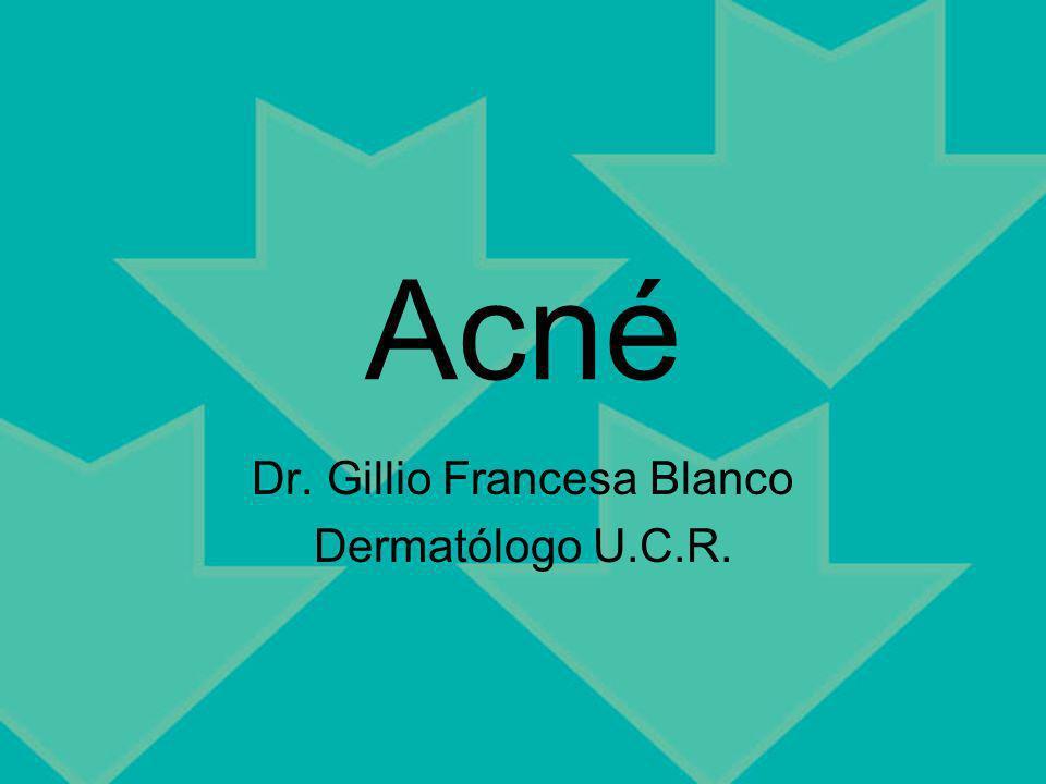 Dr. Gillio Francesa Blanco Dermatólogo U.C.R.