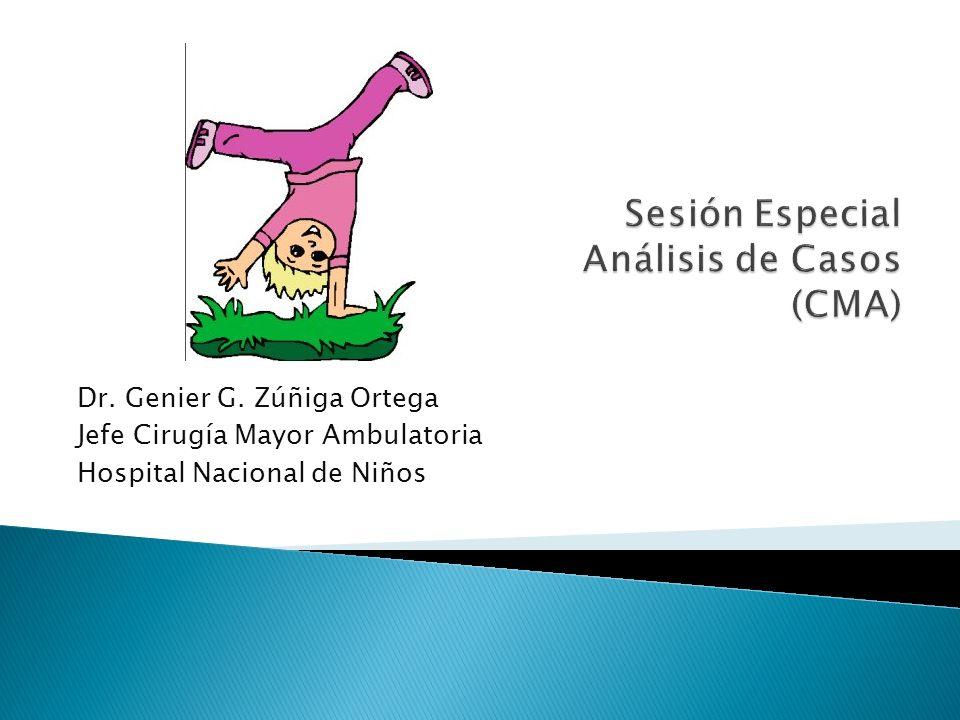 Sesión Especial Análisis de Casos (CMA)