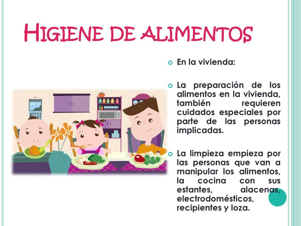 Higiene y alimentos ppt descargar for La cocina de los alimentos pdf