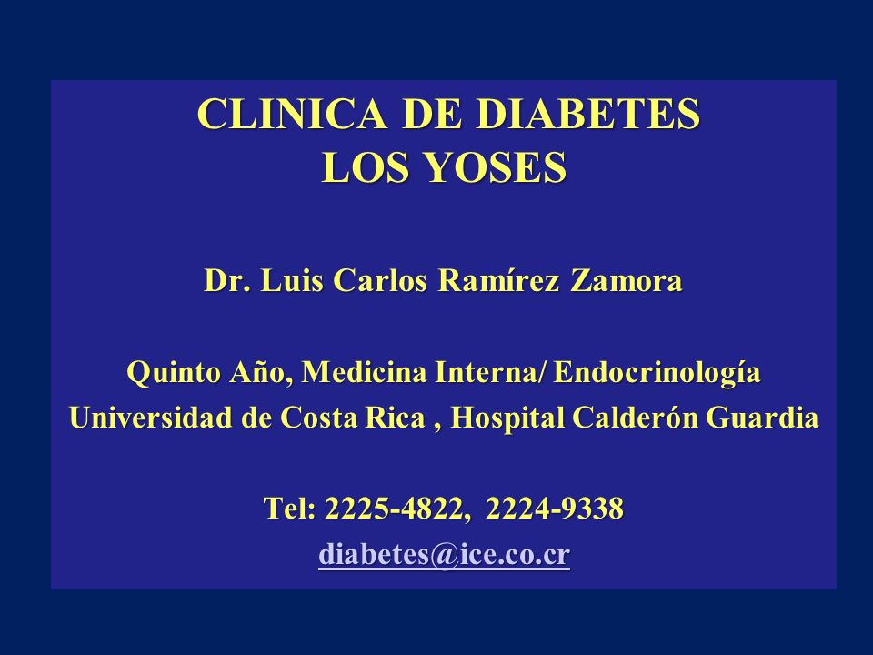 CLINICA DE DIABETES LOS YOSES