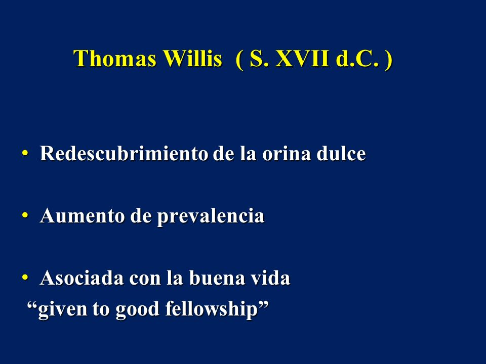 Thomas Willis ( S. XVII d.C. )
