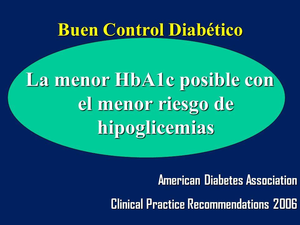 Buen Control Diabético