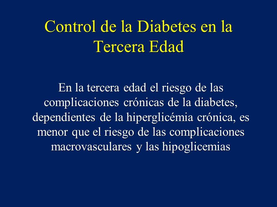 Control de la Diabetes en la Tercera Edad