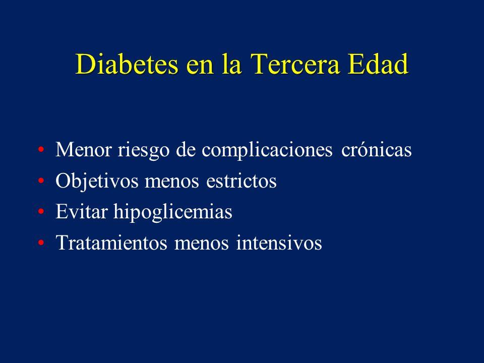 Diabetes en la Tercera Edad