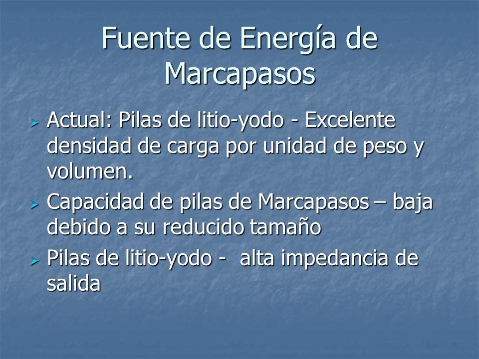 Fuente de Energía de Marcapasos