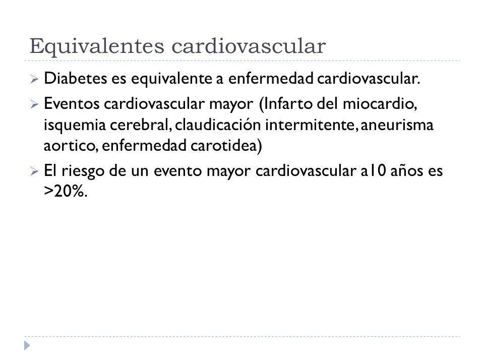 Equivalentes cardiovascular