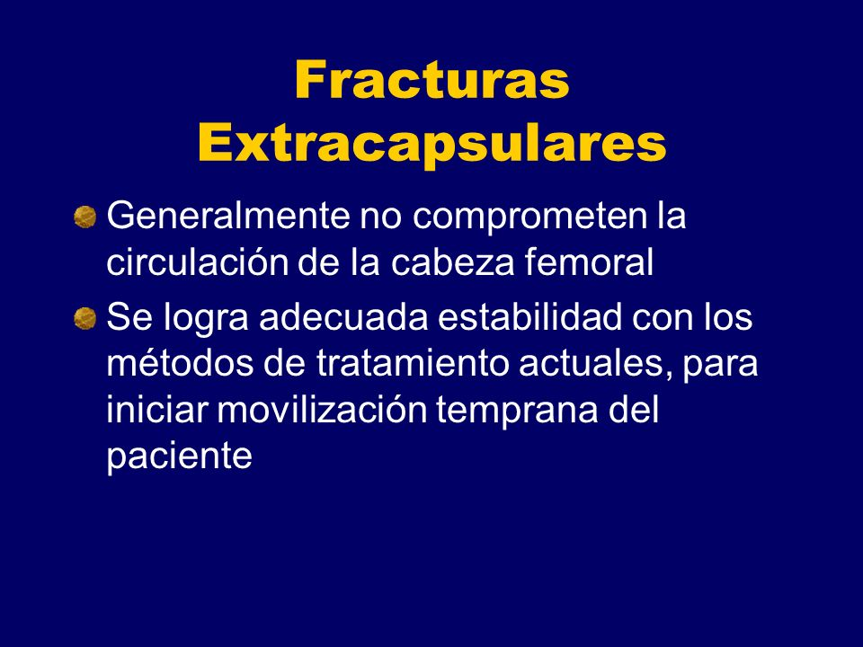 Fracturas Extracapsulares