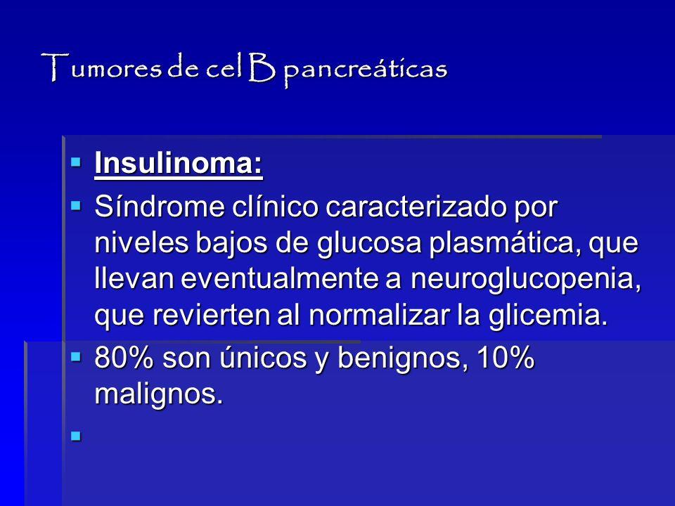 Tumores de cel B pancreáticas