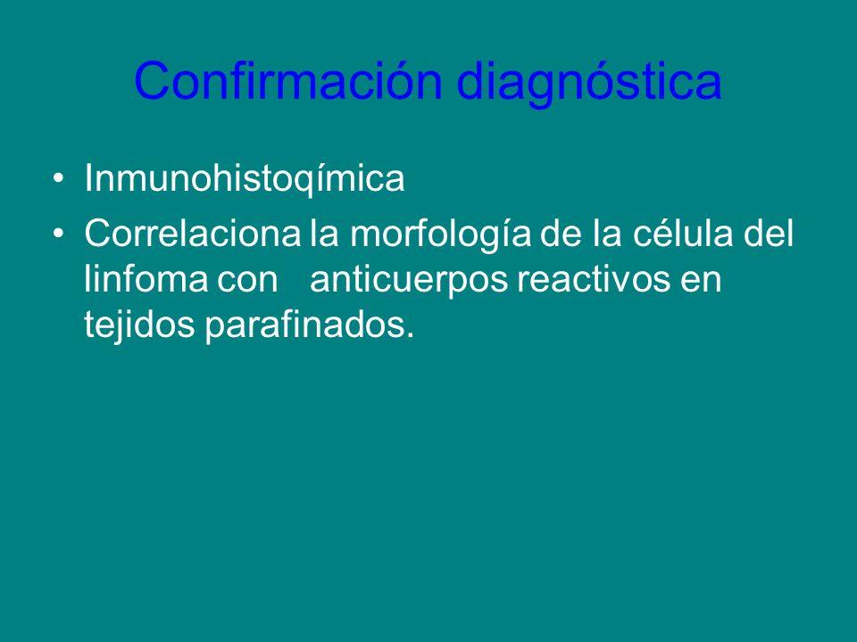 Confirmación diagnóstica