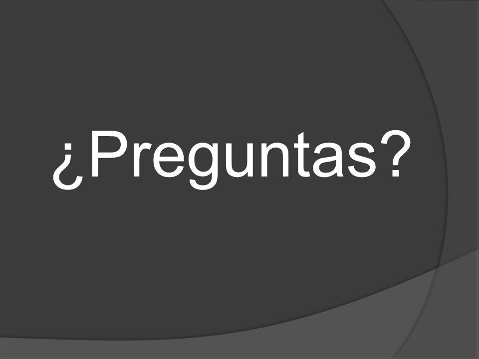 ¿Preguntas