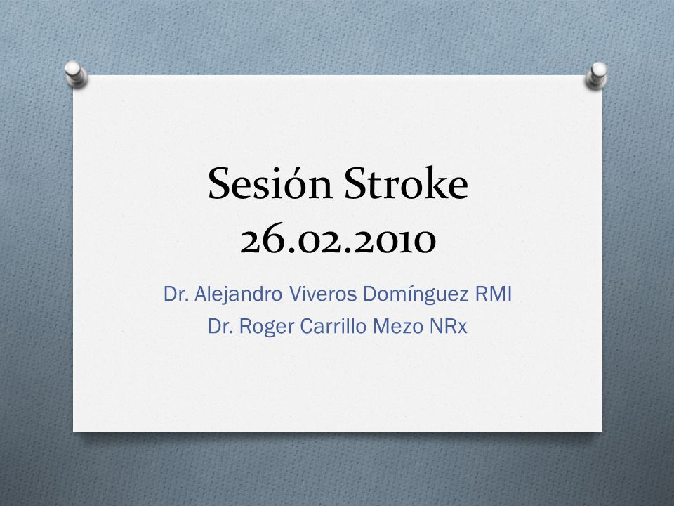 Dr. Alejandro Viveros Domínguez RMI Dr. Roger Carrillo Mezo NRx