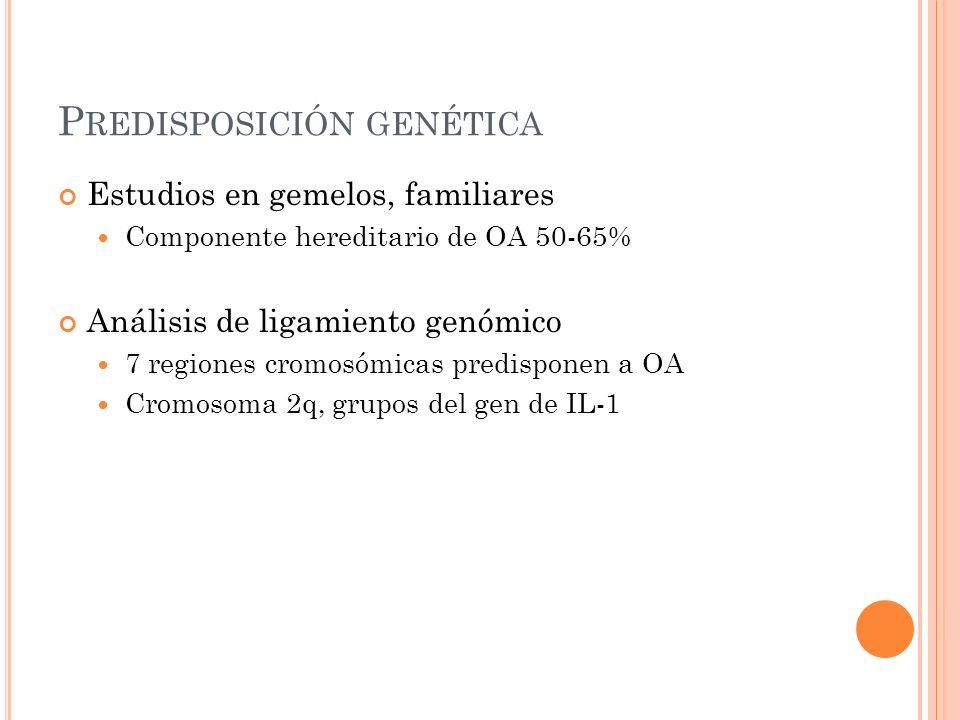 Predisposición genética