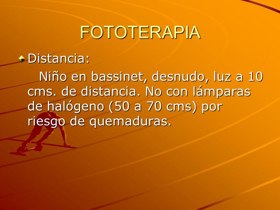 FOTOTERAPIA Distancia: