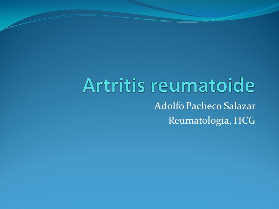 Adolfo Pacheco Salazar Reumatología, HCG