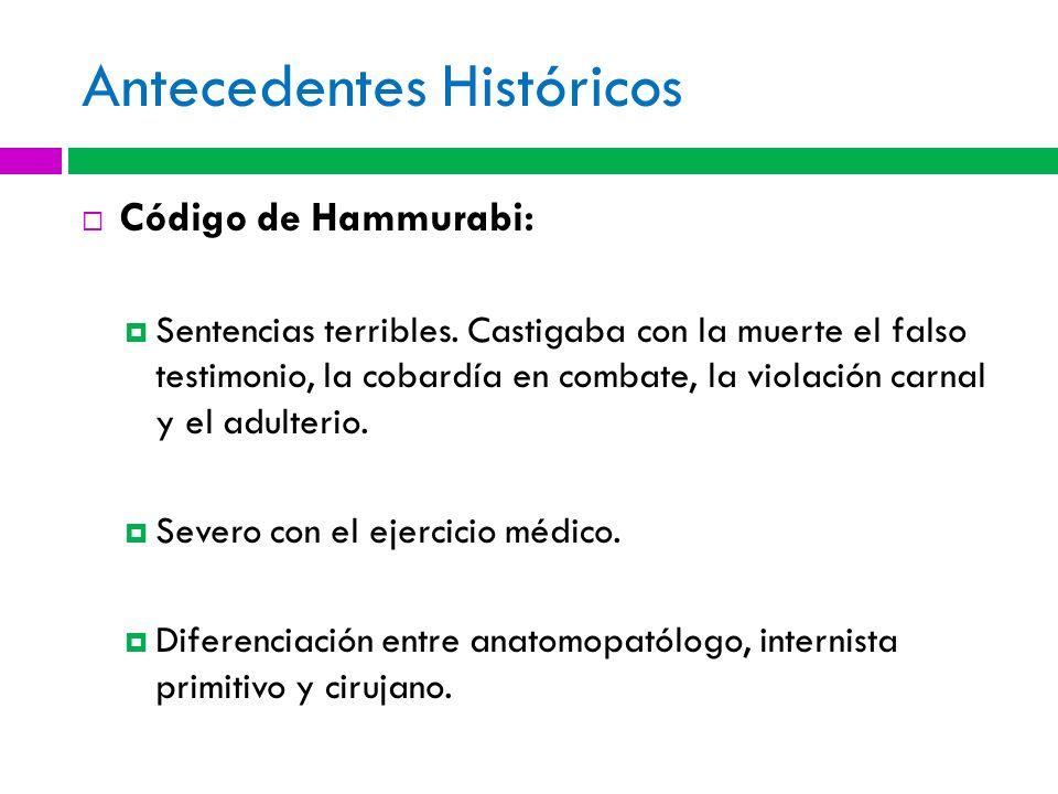 Antecedentes Históricos