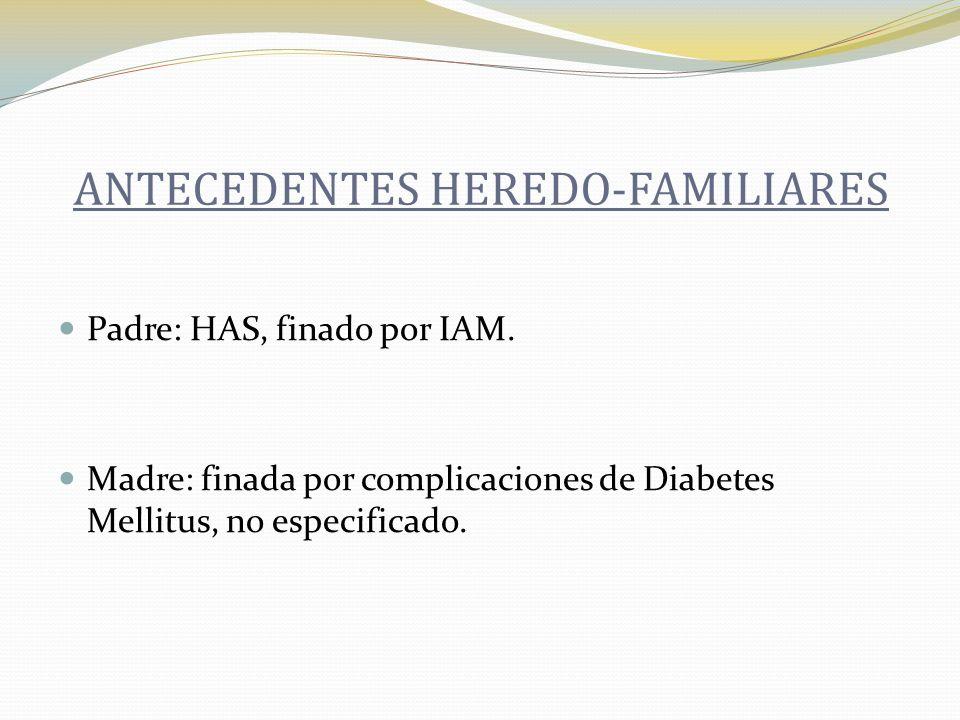 ANTECEDENTES HEREDO-FAMILIARES