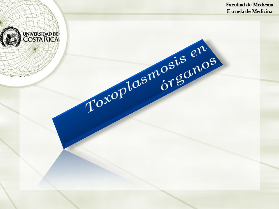 Toxoplasmosis en órganos