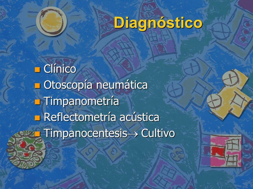 Diagnóstico Clínico Otoscopía neumática Timpanometría