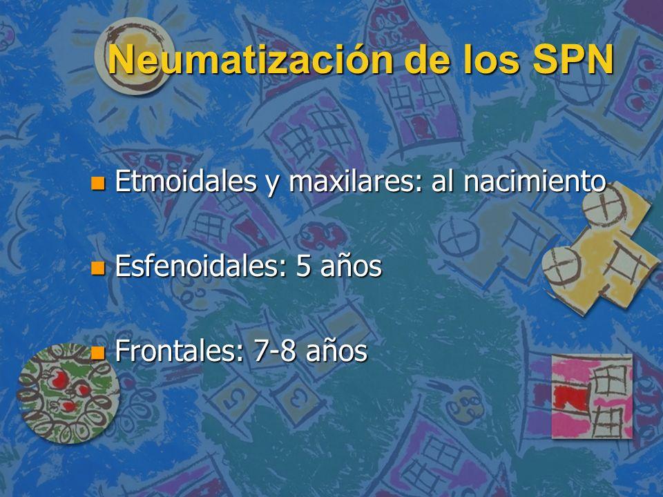Neumatización de los SPN