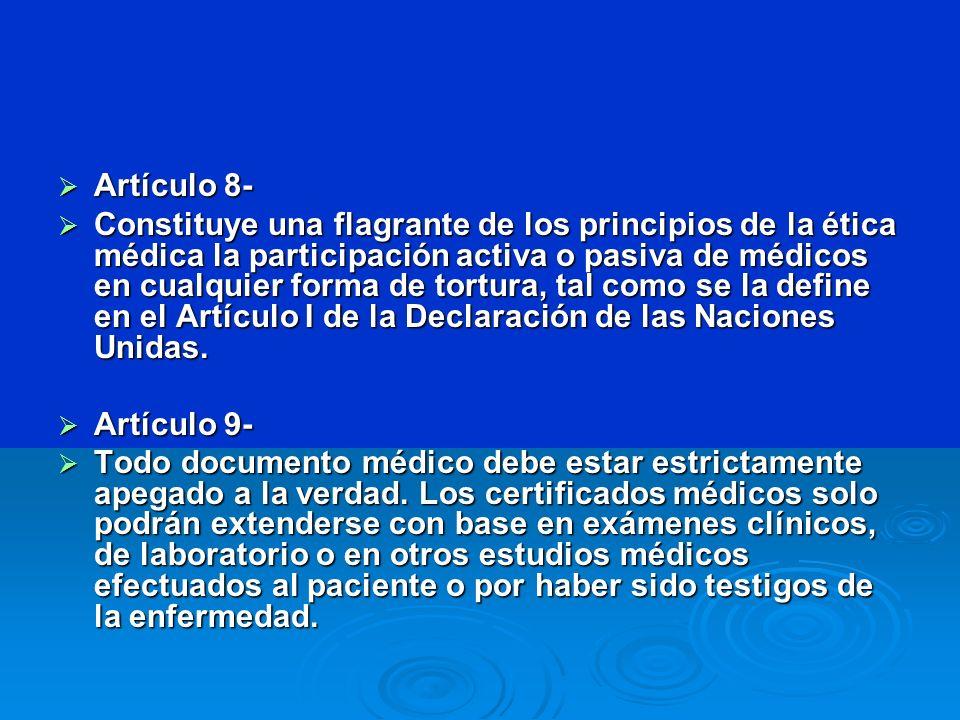 Artículo 8-