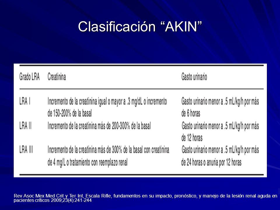 Clasificación AKIN
