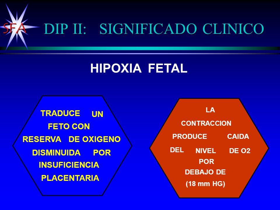 DIP II: SIGNIFICADO CLINICO