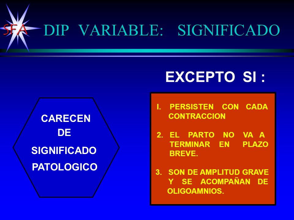 DIP VARIABLE: SIGNIFICADO