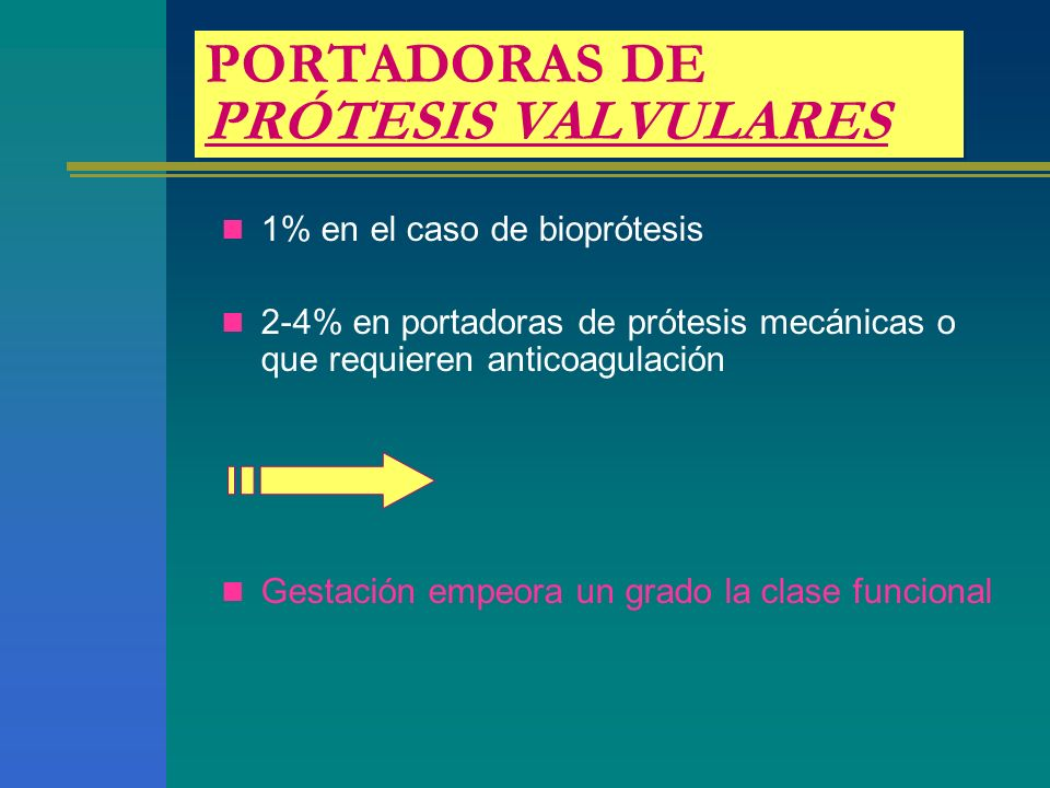 PORTADORAS DE PRÓTESIS VALVULARES