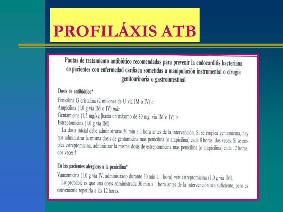 PROFILÁXIS ATB saltada