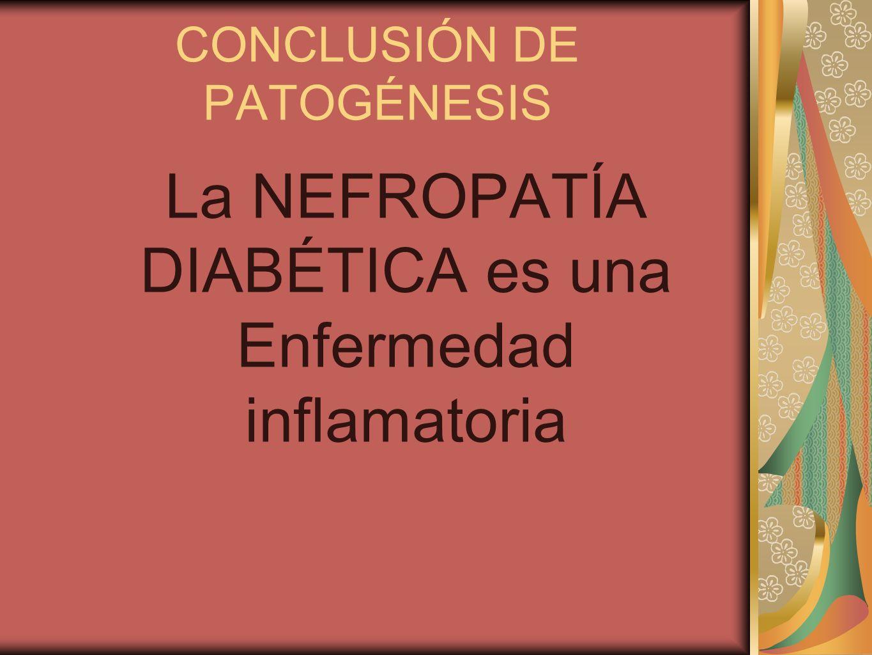 CONCLUSIÓN DE PATOGÉNESIS