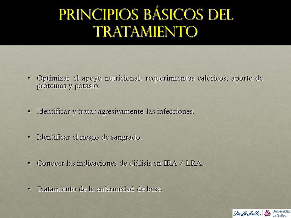 Principios básicos del tratamiento