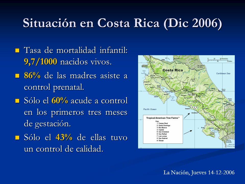 Situación en Costa Rica (Dic 2006)