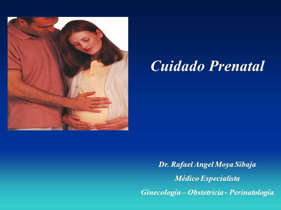 Dr. Rafael Angel Moya Sibaja Ginecología – Obstetricia - Perinatología