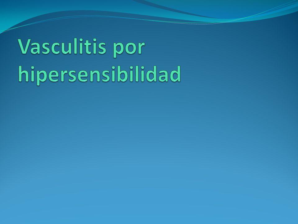 Vasculitis por hipersensibilidad
