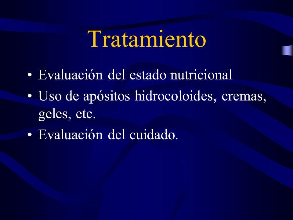 Tratamiento Evaluación del estado nutricional