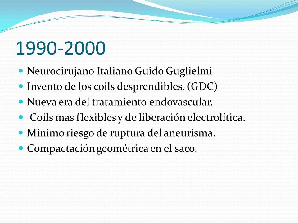 1990-2000 Neurocirujano Italiano Guido Guglielmi