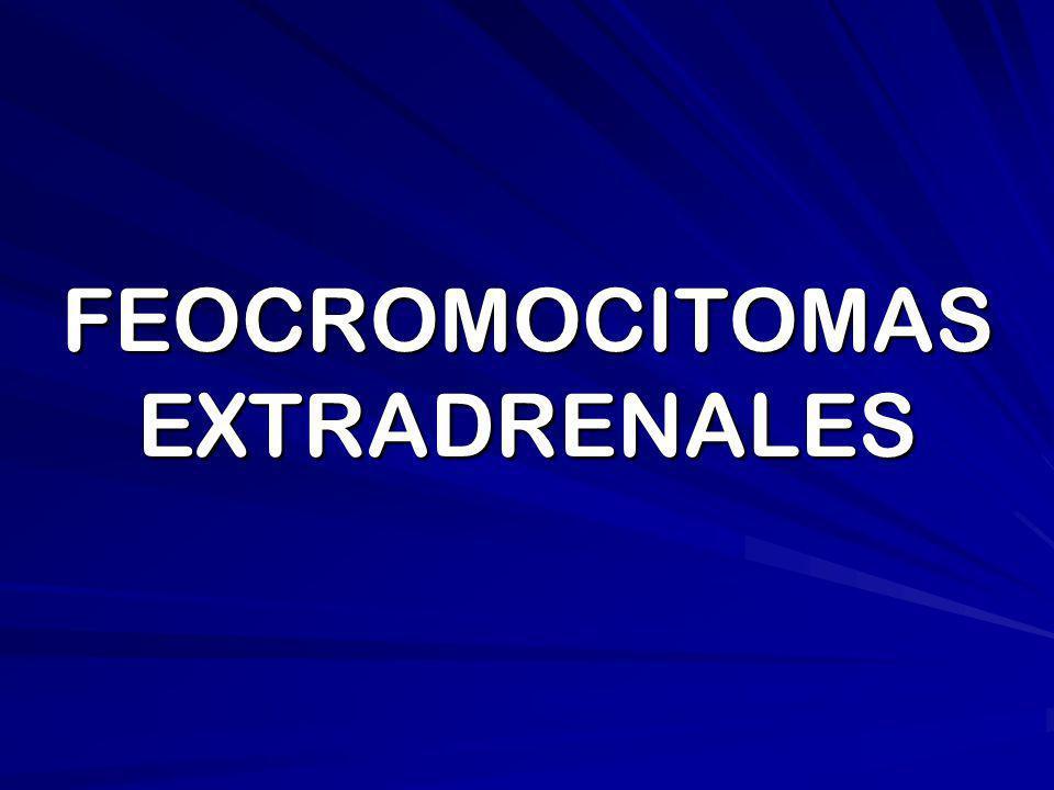 FEOCROMOCITOMAS EXTRADRENALES