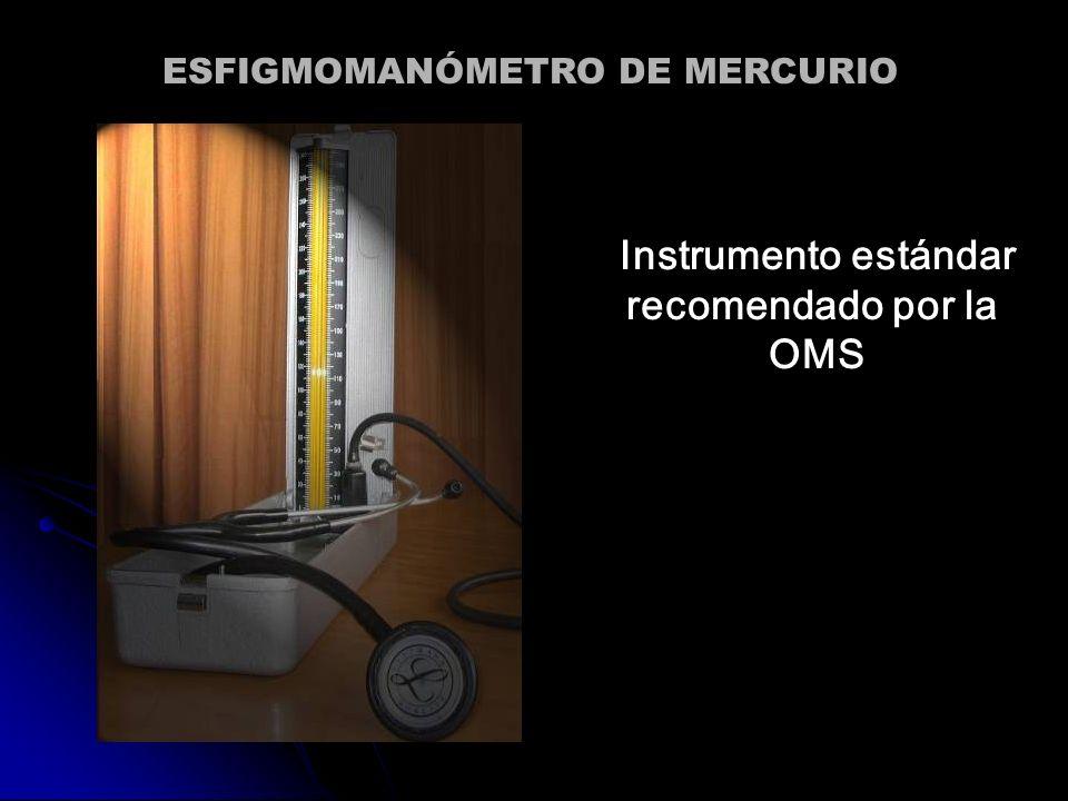 Instrumento estándar recomendado por la OMS