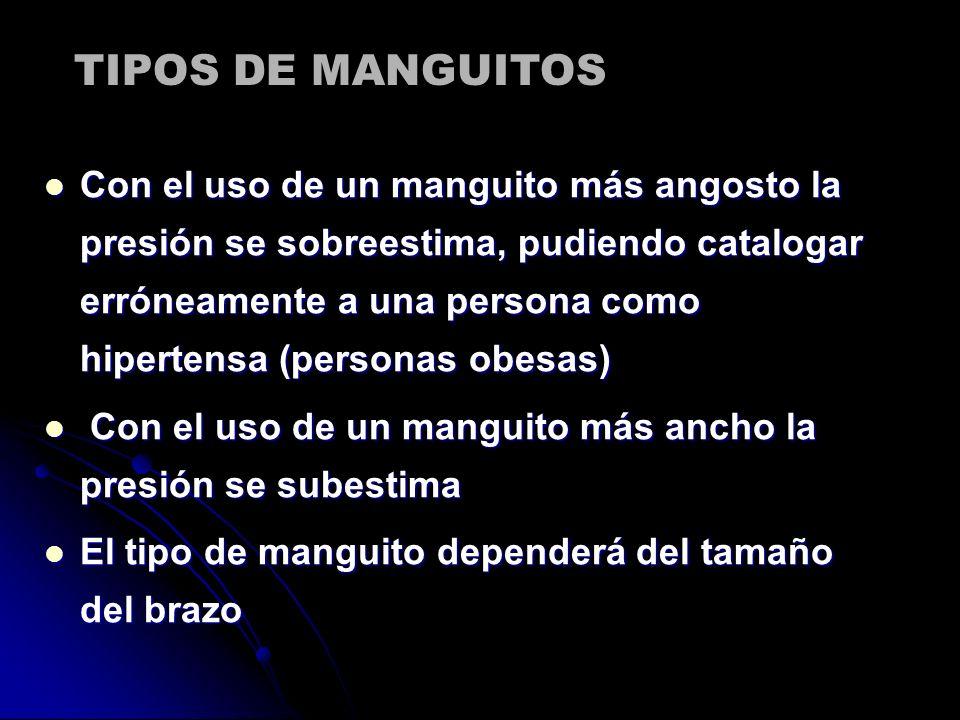 TIPOS DE MANGUITOS