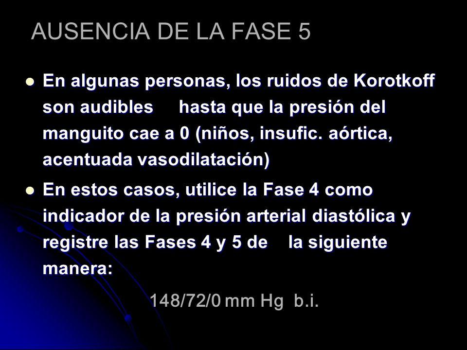 AUSENCIA DE LA FASE 5