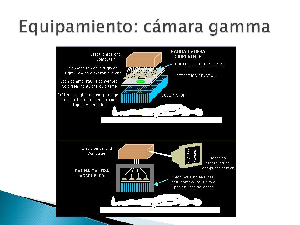 Equipamiento: cámara gamma