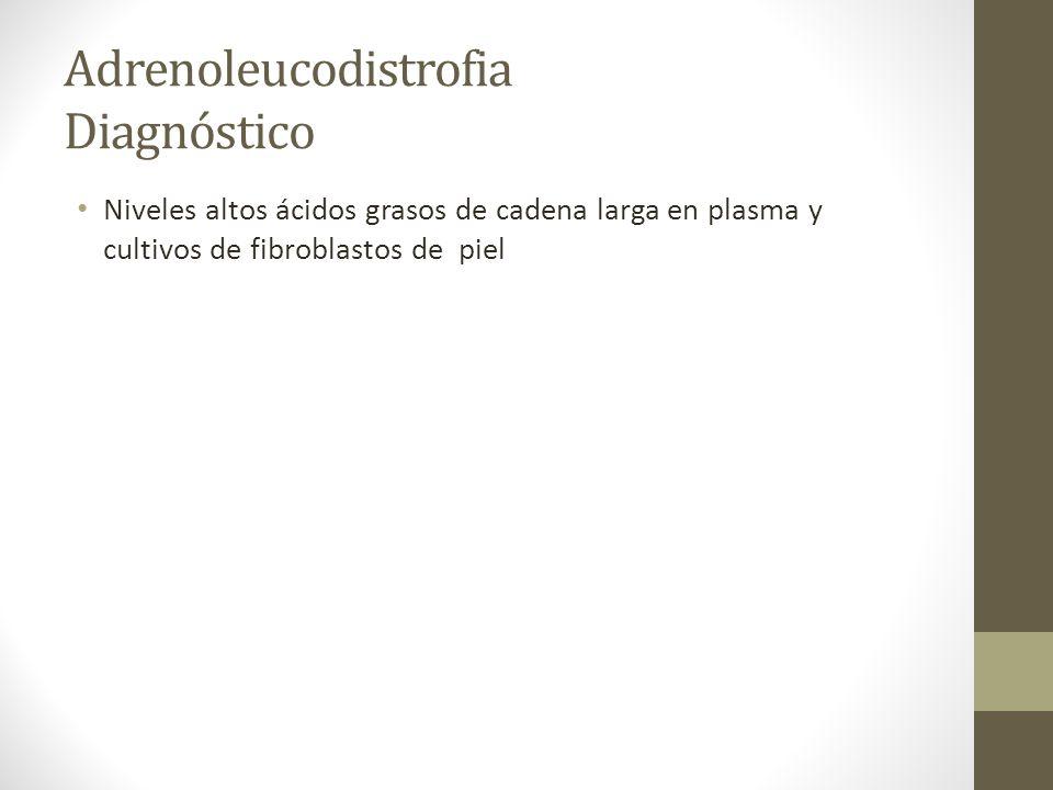 Adrenoleucodistrofia Diagnóstico