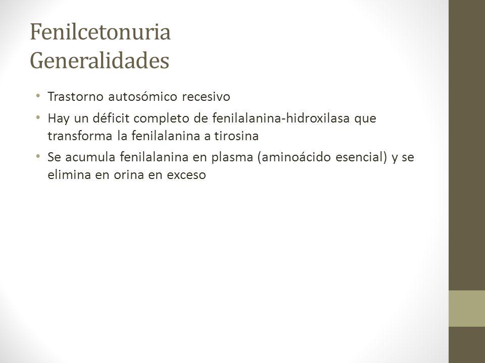 Fenilcetonuria Generalidades