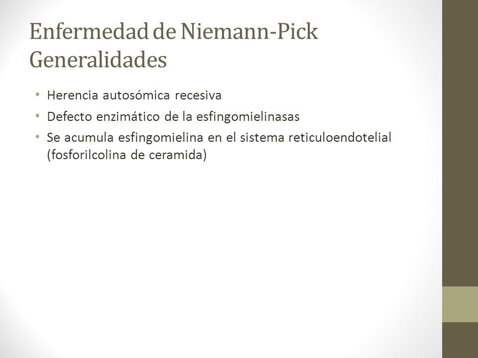 Enfermedad de Niemann-Pick Generalidades