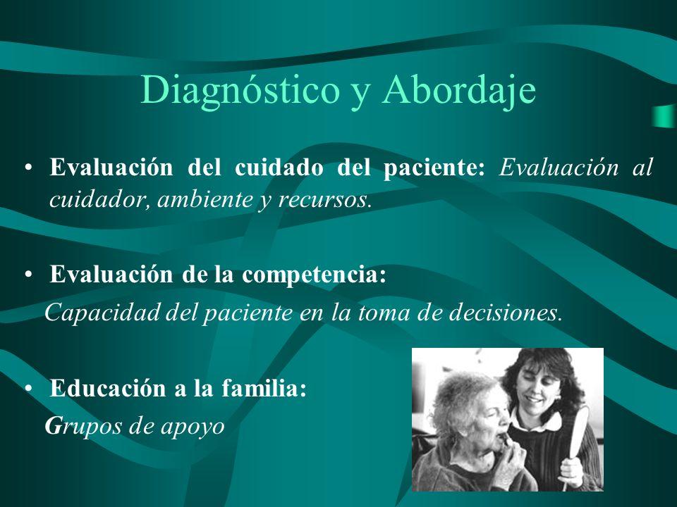 Diagnóstico y Abordaje